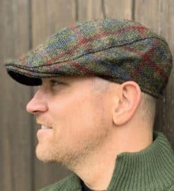 Country Gent Tweed Flat Cap