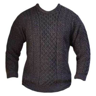 Gray Wool Sweater from Ireland