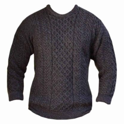 Gray Wool Sweater from Ireland