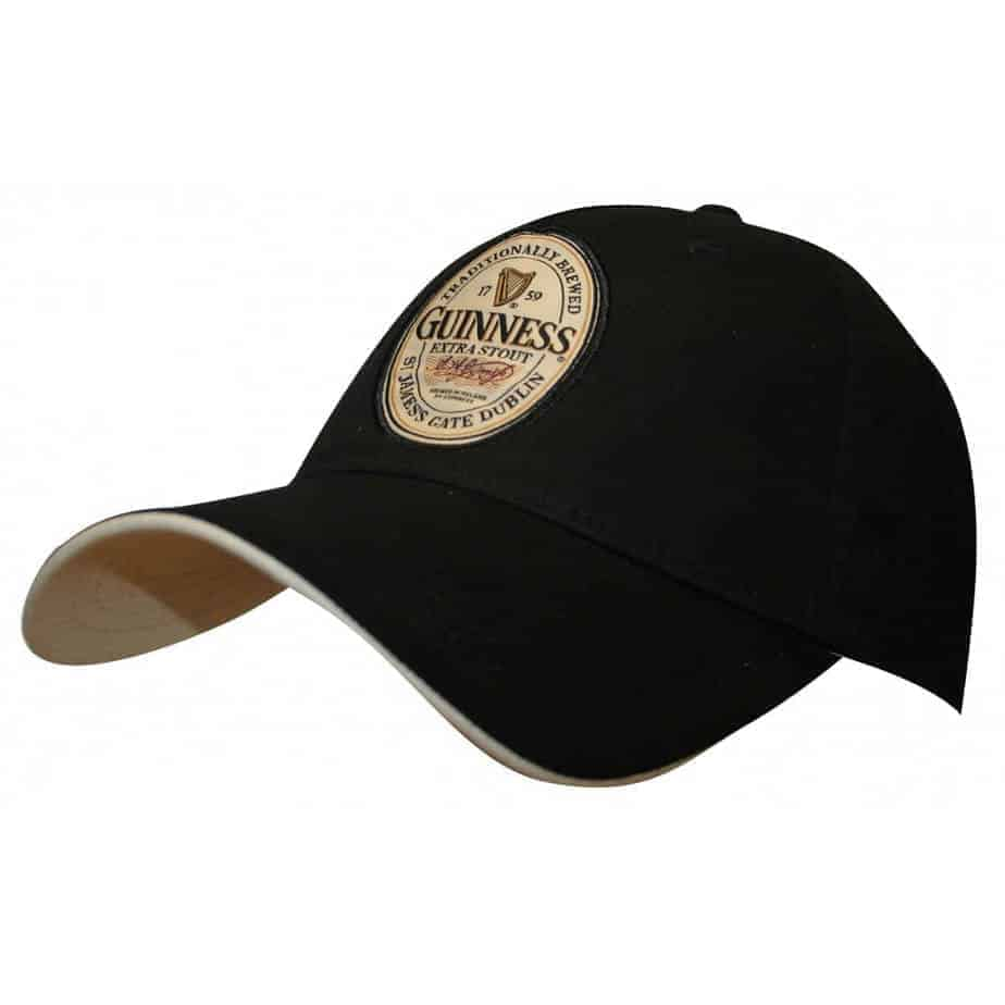 4e78a76c4 Guinness Black Baseball Cap - English Label