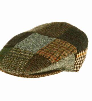 Irish Tweed Patch Cap, Hanna Hats