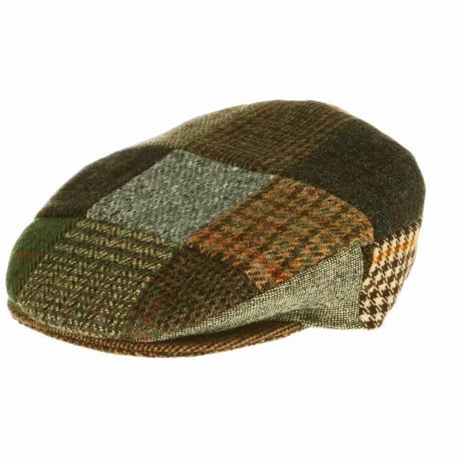 17495f89e1f9 Vintage Tweed Patch Cap – Hanna Hats of Donegal, Ireland