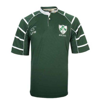Irish Rugby Shirt for Men, Green
