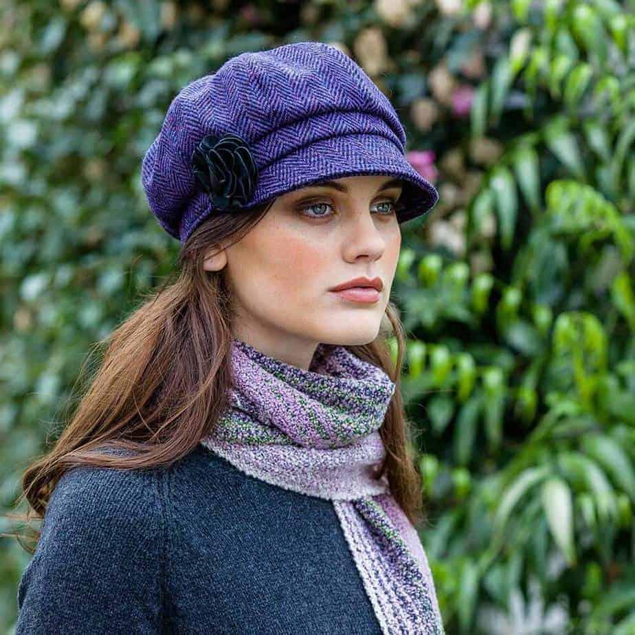 Ladies Irish Hat Purple 8775d2469c