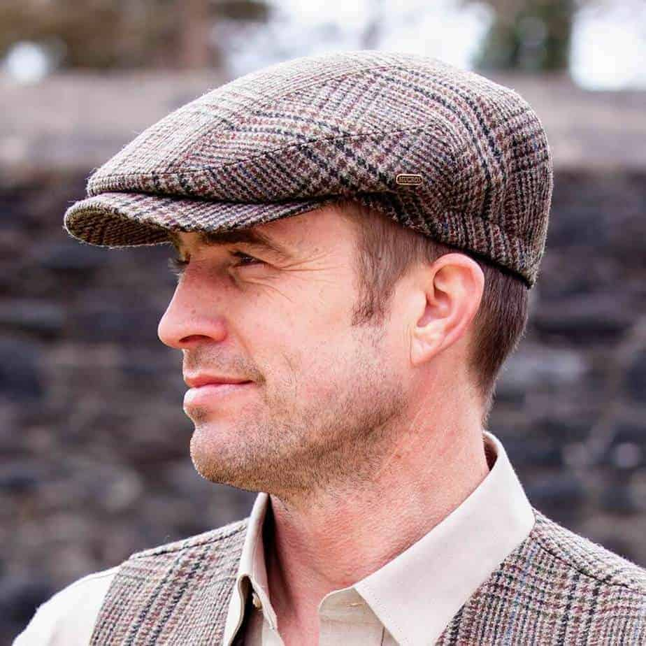 traditional irish golf flat cap made in ireland your lucky irish hat