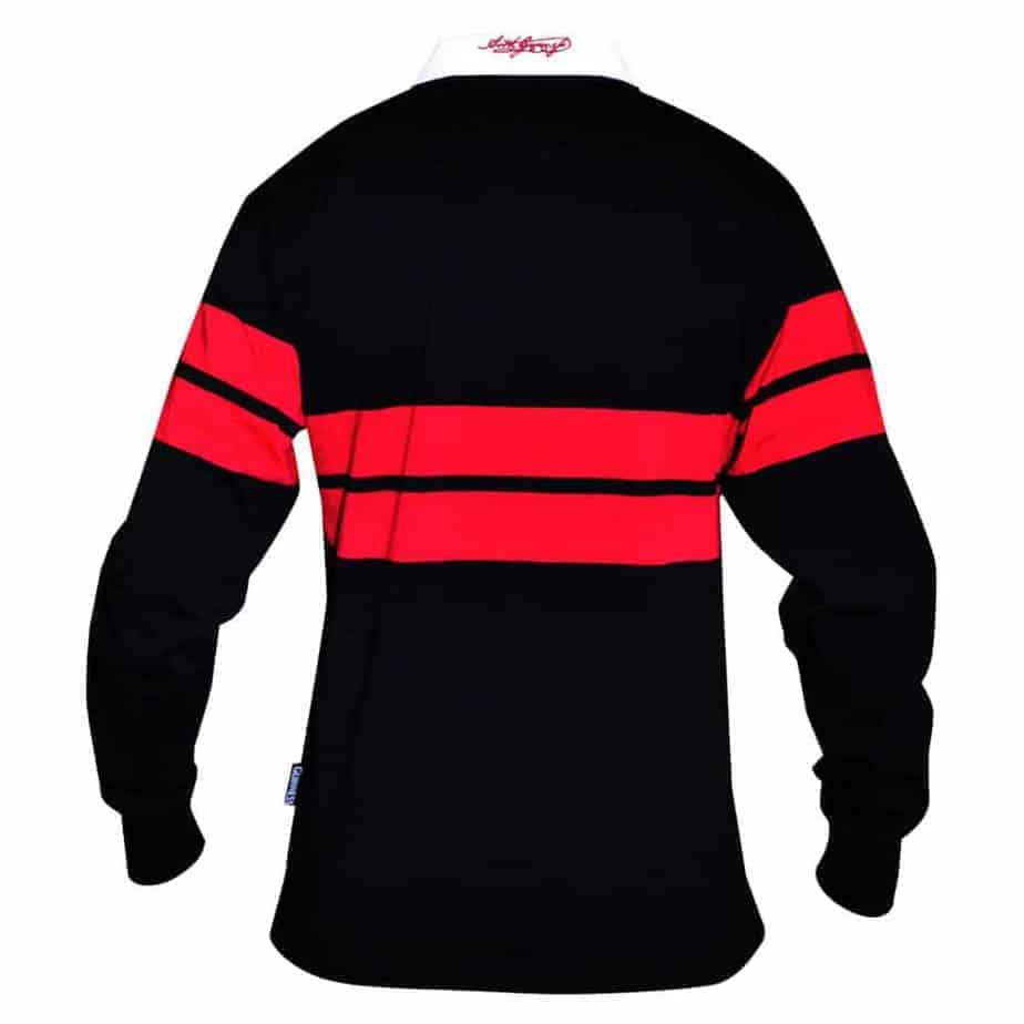 b35129b7cf1 Guinness Rugby Shirt - Black and Red