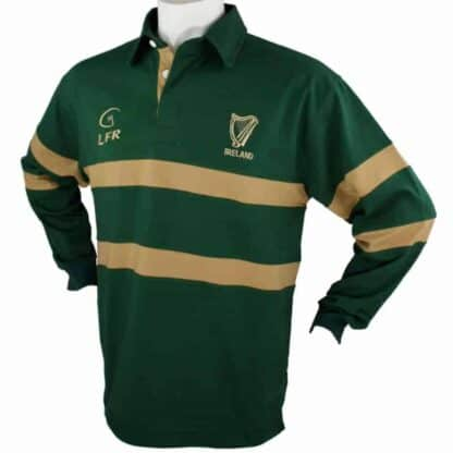 Irish Rugby Shirt - Harp Logo