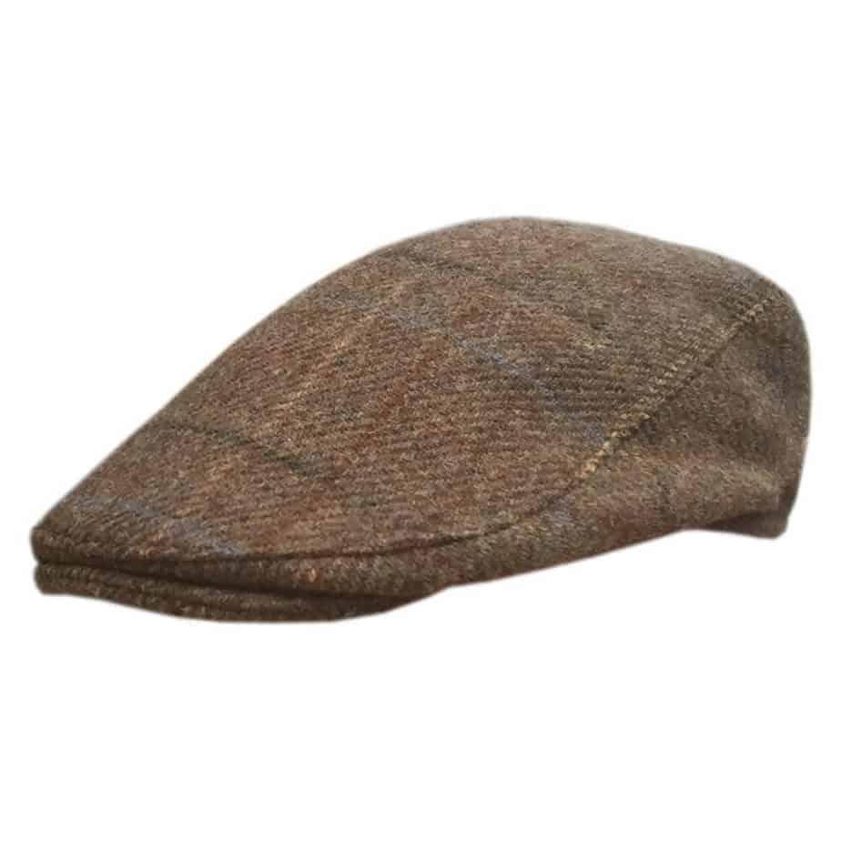 Brown Irish Golf Hat   Hats for Men