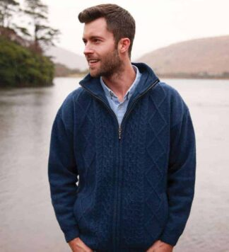 Men's Wool Sweater. Made in Ireland.