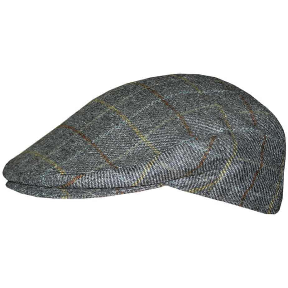 Irish Tweed Cap - Plaid - Celtic Clothing Company 218740625e5