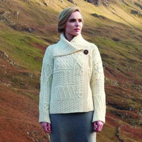 Women's Irish Wool Sweater