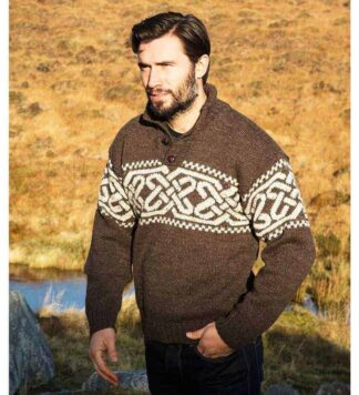 Irish Wool Sweater for Men