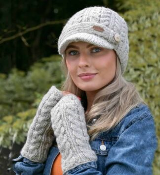 Wool Hat and Handwarmers
