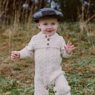 Kids Tweed Flat Cap