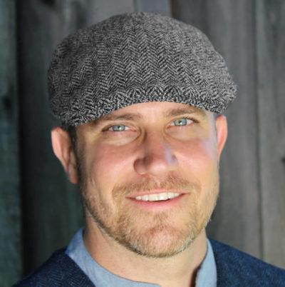 Traditional Irish Tweed Cap
