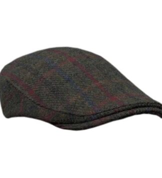 Plaid Harris Tweed Hat