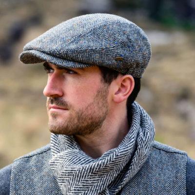 Traditional Irish Cap - Extended Peak
