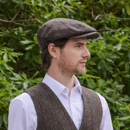 Tweed Peak Cap from Ireland