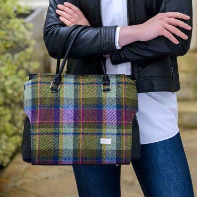 Ladies Plaid Handbag