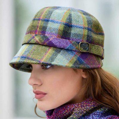 Ladies Tweed Flapper Hat from Ireland