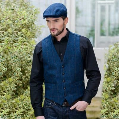 Men's Tweed Vest from Ireland