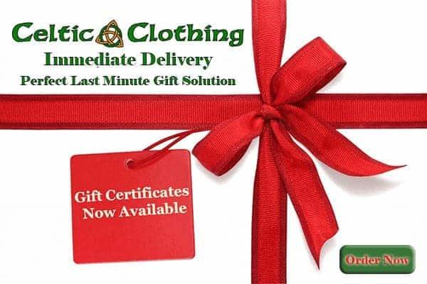 Irish Gift Certificate