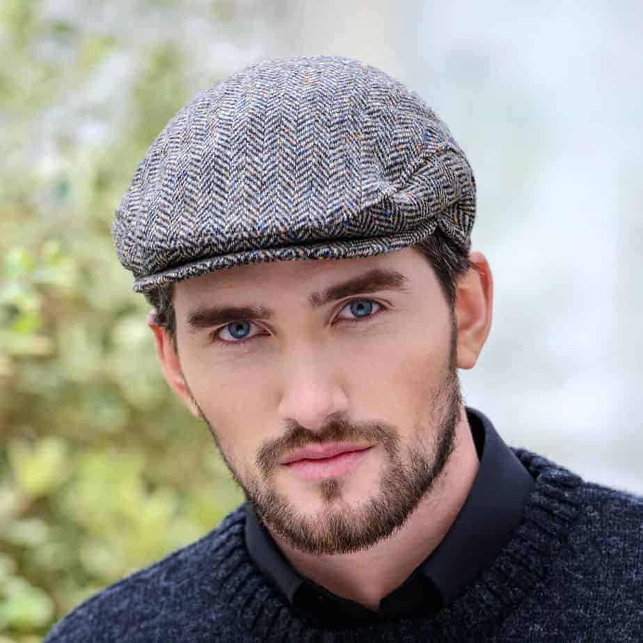 f593fa63a2ad0 Irish Tweed Flat Cap - Gray