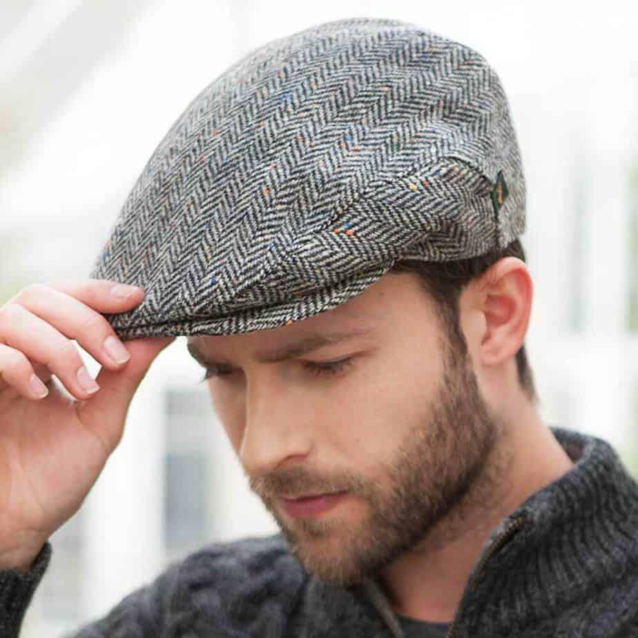 e94700f0fc56b Ivy Cap - Irish. Irish Tweed Flat ...
