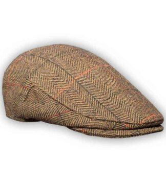 Brown Shandon Tweed Hat
