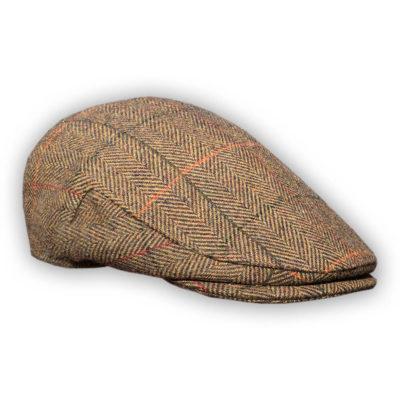 Brown Shandon Tweed Hat
