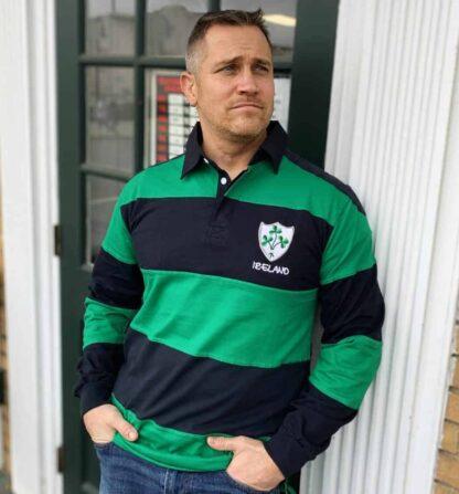 Irish Rugby shirt for men.