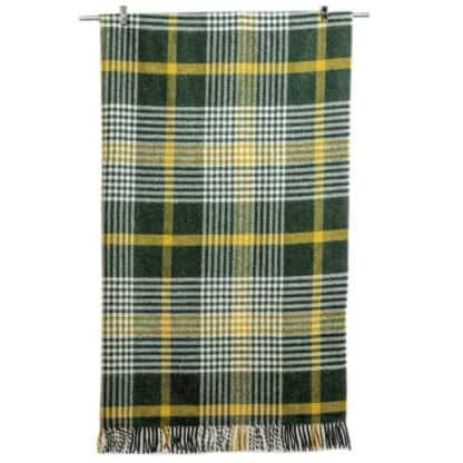 Plaid Wool Throw - Michael Collins