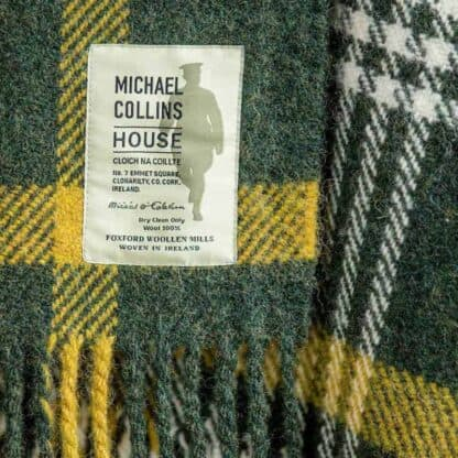 Michael Collins Wool Throw