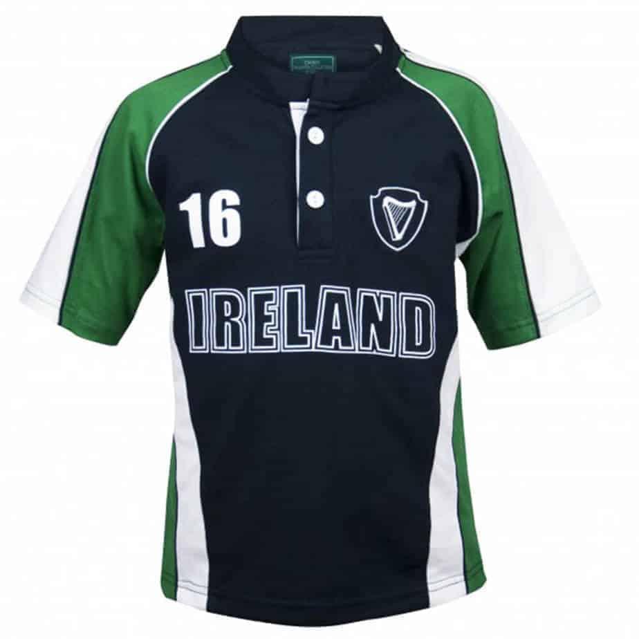Kids Irish Rugby Jersey