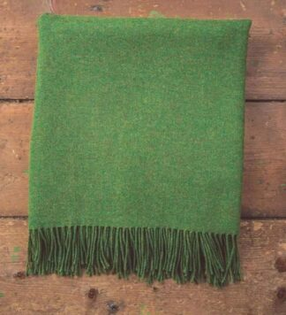 Lambs wool throw.