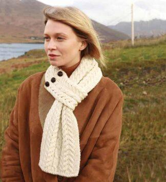 Women's Wool Scarf.