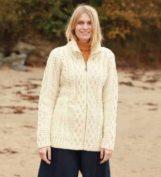 Ladies Wool Cardigan