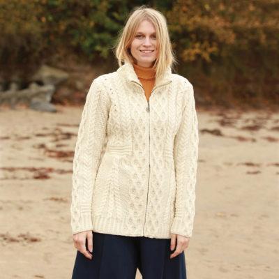 Ladies Wool Cardigan