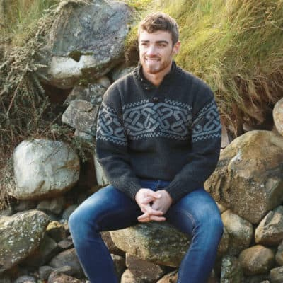 Irish Celtic Wool Sweater