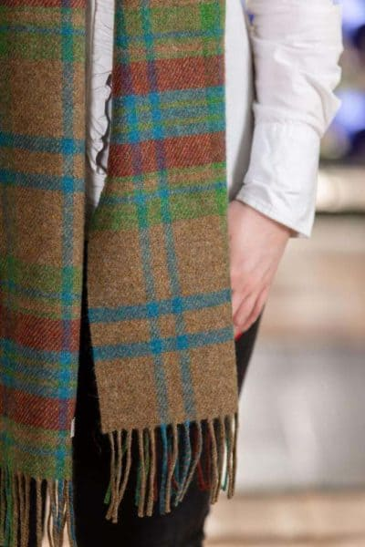 Long Irish Lambswool scarf
