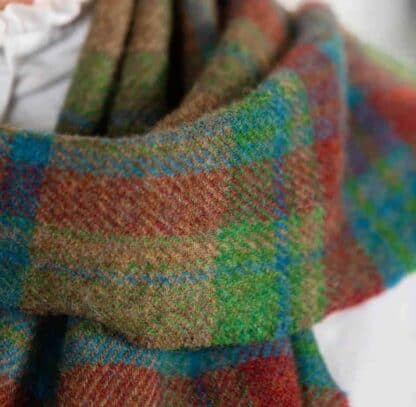 Irish Lambswool Scarf. Made in Ireland