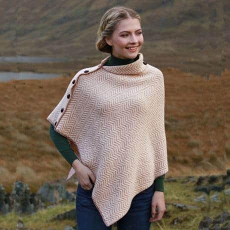 Irish Wool Cape