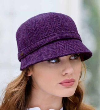 Irish Tweed Flapper Hat for Women