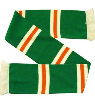 Irish and Glasgow Celtic football scarf