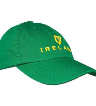 Irish Harp Baseball Cap Green