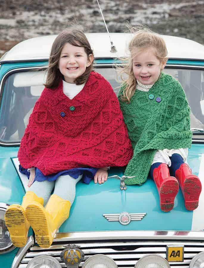 Kids Wool Cape