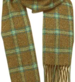 Foxford Wool Scarf. Lambswool