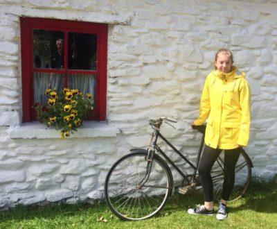 Grace Lord - Irish Fisherman's Raincoat