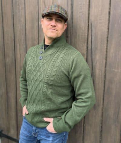 Irish Sweater - Burren Style