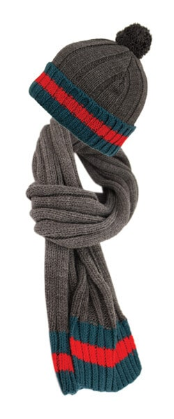 Winter Scarf and Hat Set
